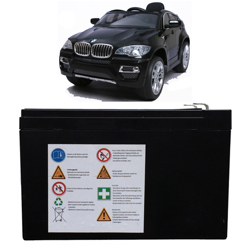 batterie de remplacement pour bmw x6 v hicule auto enfants voiture lectrique ebay. Black Bedroom Furniture Sets. Home Design Ideas